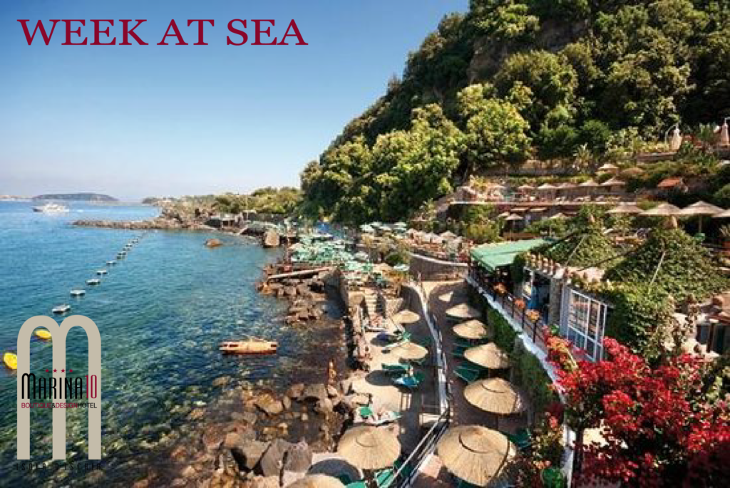 Week by the Sea valid from 19 April to 21 October